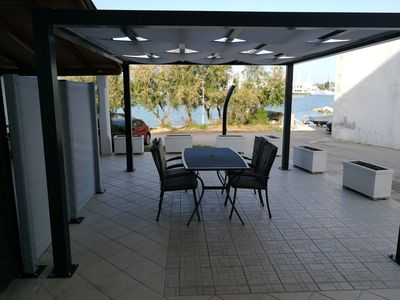 Photo for Ground floor 2 + 2P apartment **** with sea view and terrace 10 m from the beach