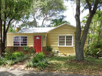 "Photo for A Tropical Masterpiece - "" Cottage Exotic "" Minutes to Palm Beach Downtown Shops"