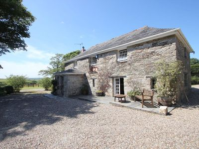 Photo for TREVENNING BARN, pet friendly, with open fire in Bodmin, Ref 959457