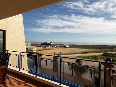 Photo for Stunning Modern 2 Bedroom Apartment with Seaviews and Communal Roof Terrace Pool