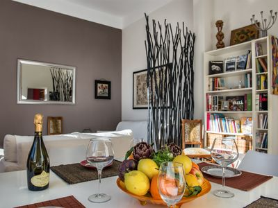 Photo for Casa Desiderio apartment in Via Veneto with WiFi & lift.