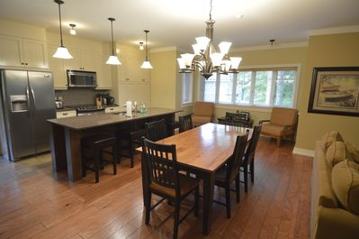 Open concept, great for family gatherings.