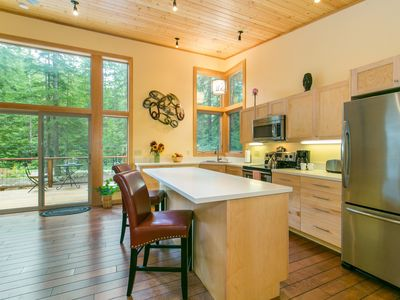 Photo for Modern Mt. Baker Cabin - Glacier WA - Skiing - Snowboarding Mt. Biking