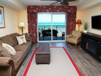Photo for Grand Atlantic 305, Lovely 2 BR Ocean Front with Indoor Outdoor Pool, Hot Tub, Lazy River and Kiddie Pool