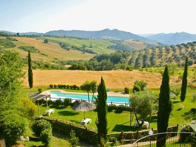 Photo for Farmhouse in Tuscany with pool near the sea Pisa Siena Florence