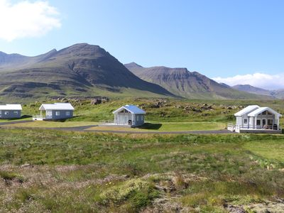 Photo for Northern Lights in Beautiful Snaefellsnes Cottage (West Iceland)