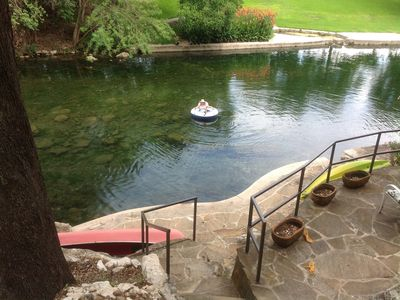 Photo for 1BR Cottage Vacation Rental in New Braunfels, Texas
