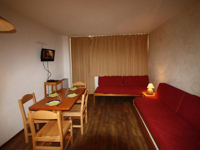 Photo for Surface area : about 24 m². Ground floor. Orientation : South. Living room with 2 single beds