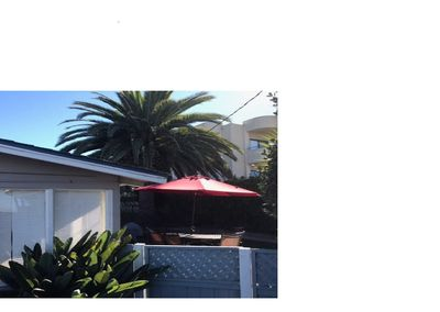 Spacious private fenced backyard - Half Block From Morro Bay Embarcadero!