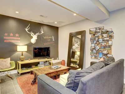 Photo for 2 bedroom apt - sleeps 6 - close to all that DC offers