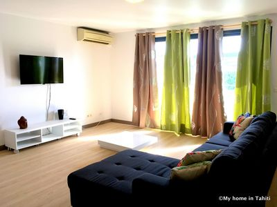 Photo for Duplex Opuora - Papeete center - 2 bedrooms - A/C - WiFi - 4 pers  - Tahiti