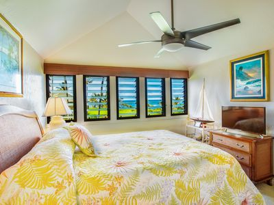 Photo for Kaha Lani #202, Ocean and Pool View, Steps to Beach, Free Wifi, Parking