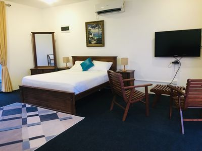 Photo for Cozy king size room overlooking the majestic hills of Kandy.