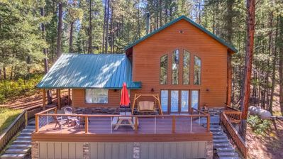 Photo for Jemez Springs Lodge in the heart of the mountains, sleeps 6-8. Family friendly