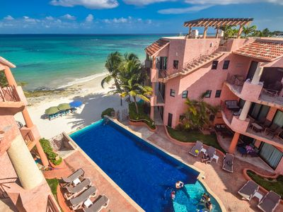 Photo for PENTHOUSE B3* Private rooftop*SLEEPS 8 *great views* beach club*Susan Mattingly