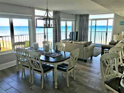 Photo for MANY NEW UPGRADES! Incredible Oceanfront Views from 3BR with Wraparaound Balcony