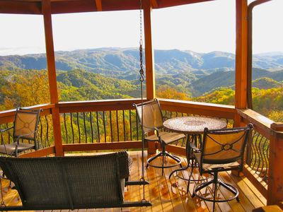 Photo for SPECTACULAR PANORAMIC VIEWS FROM THE LUXURIOUS, PRIVATE 'CABIN' AT KILKELLYS!