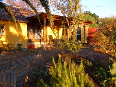 Photo for Cosy Canarian house in a lush natural environment, ideal for hiking, quiet, stunning views