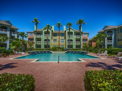 Photo for 2 BR Galveston Condo Steps from the Beach and By the Pool!