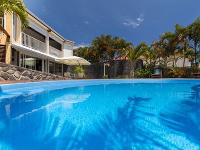 Photo for 100m² charming guest apartment with private pool