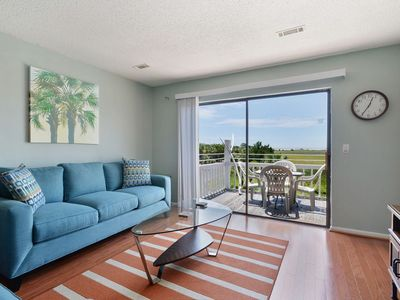 Photo for Condo With Lovely Marsh Views and Steps to Water