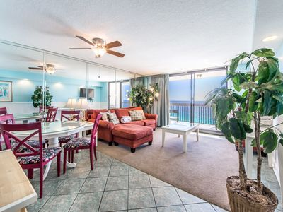 Photo for BEACHFRONT at SunDestin 1703☀Apr 21 to 23 $551!☀Heated Indoor Pool + HotTub!