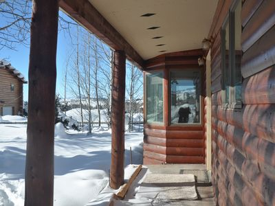 Photo for Diamond D Cabin D (3 bed/2 bath) With Gorgeous Teton Views