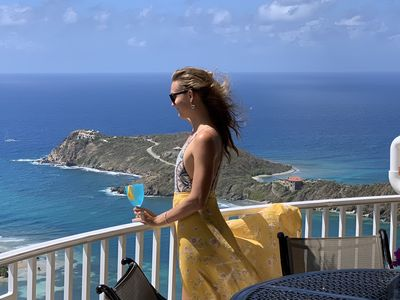 The cooling breeze in your hair; the sounds of the surf & fabulous ocean views!