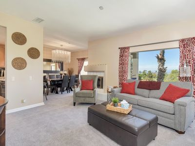 Photo for *Beautiful Furnishings & Magnificent Views*—New carpet & Living Room Furniture