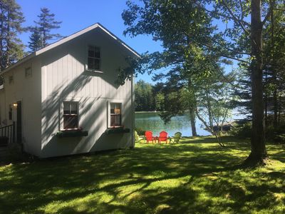 Photo for Cove Cottage: Quietly Nestled Between The Pines Of Tranquil Seavey Cove