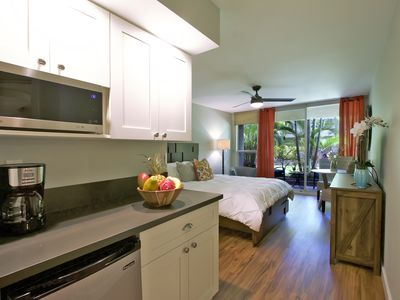 """Photo for """"Barefoot Bungalow"""" - Newly Remodeled Studio Just Steps to the Beach!"""