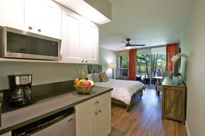 Kitchenette - Bed Area