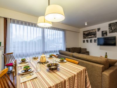 Photo for Spacious apartment up to 7 people facing the Mont Blanc massif