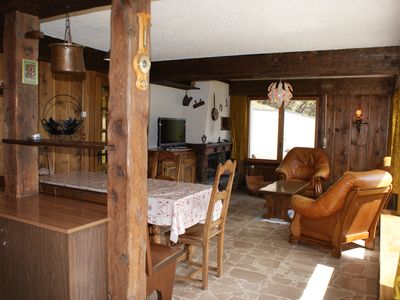 Photo for 4BR Chalet Vacation Rental in Orsières, VS