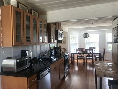 Galley style kitchen with all necessities