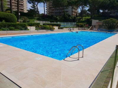 Photo for 2P New, Swimming Pool, 5 Min Sea, Tennis, Wifi, Parking