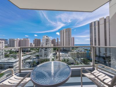 Photo for Ala Moana Studio Ocean View! Book Now at Special Rate!