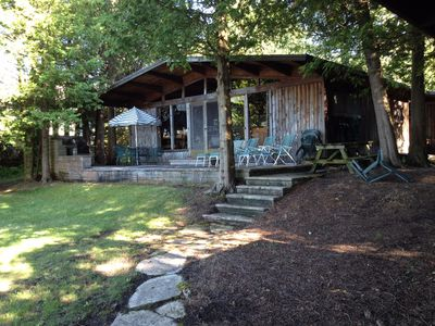 Photo for New Listing: Nostalgic on the water Cottage for your family in Northern Door Cty