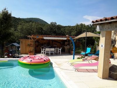 Photo for Studio homestay for holidays in villa with pool