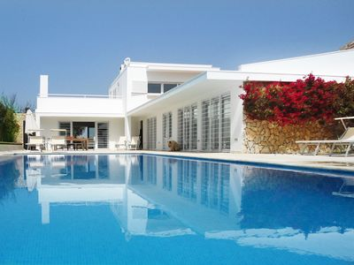 Photo for Modern Villa For 8 With Swimming Pool And 2.4 km Far From The Beach