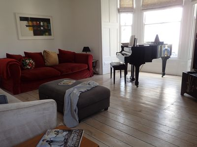 Photo for Beautiful welcoming 140 year old Victorian townhouse 500m from the seafront