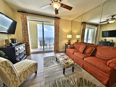 Photo for 2BR Grand Panama Beach Front Condo!