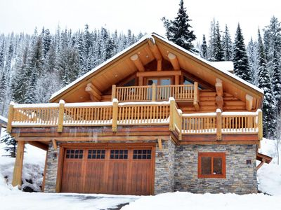 Photo for Ski-in Log Home near Sun Peaks Village