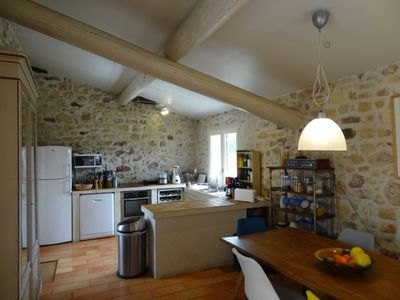 Photo for House 1.1 km from the center of Bonnieux with Parking, Internet, Washing machine, Pool (926180)