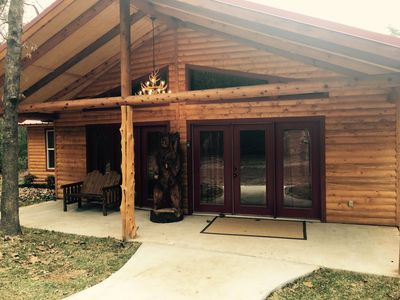 Photo for Luxury Log Cabin in the Premier Resort-Holly Lake Ranch