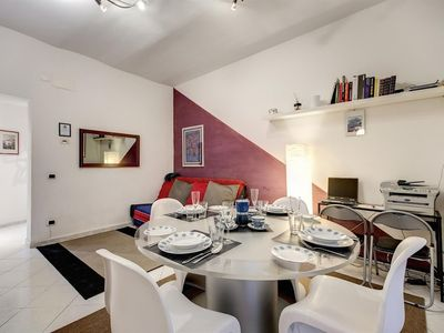Photo for Apartment 1.3 km from the center of Rome with Internet, Air conditioning, Lift, Washing machine (365598)