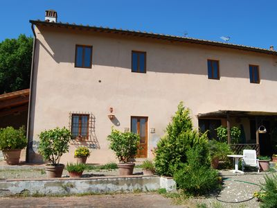 Photo for Just 20 minutes from Florence, a whole apartment in the Tuscan countryside