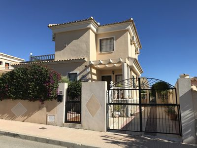 Photo for A Beautifully presented detached villa in which sleeps 7