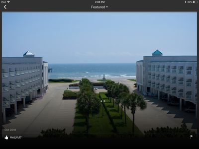 Photo for Condo With Best Sunrise, Ocean Casa Del Mar View And Fishing Piers In Galveston!