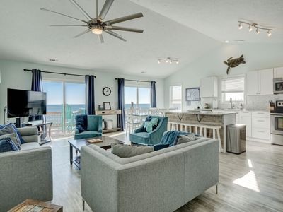 Photo for Paradise Found! Fabulous, Flexible, Beach Front Luxury! Hot Tub, Best Location!